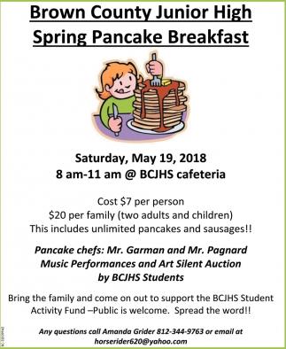 Spring Pancake Breakfast