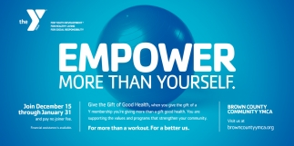 Empower More Than Yourself