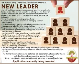New Leader