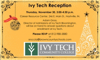 Ivy Tech Reception