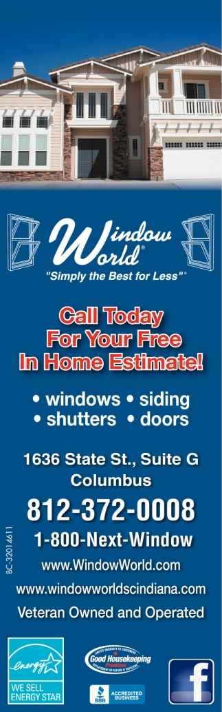 Call Today For Your Free In Home Estimate!
