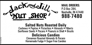 Salted Nuts Roasted Daily