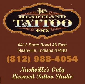 Nashville's Only Licensed Tattoo Studio