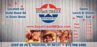 Located On State Road 46 In Gnaw Bone