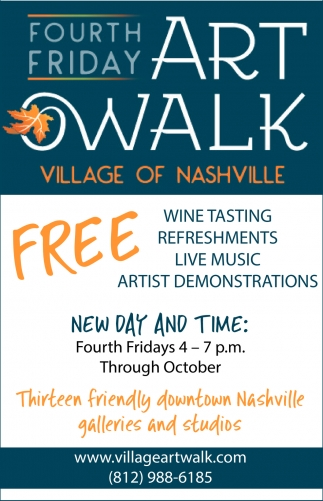 Fourth Friday Art Walk