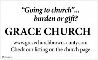 Going To Church... Burden Of Gift?
