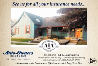 See Us For All Insurance Needs...